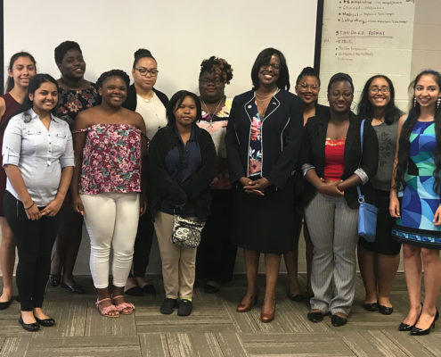 Get Empowered Team with Lt. Gov. Jenean Hampton